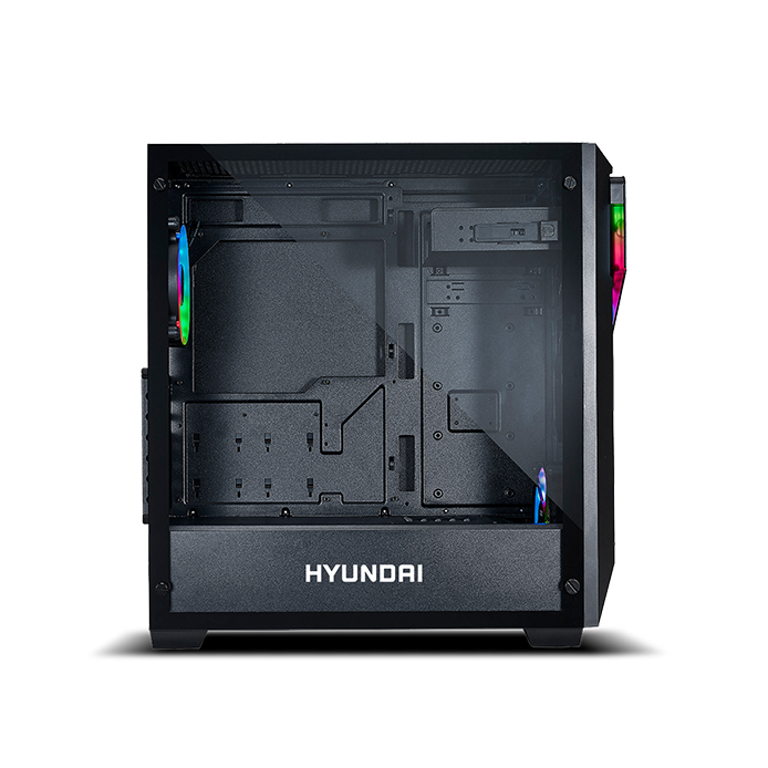 Hyundai Inferno Gaming Computer Case with 650W Power Supply